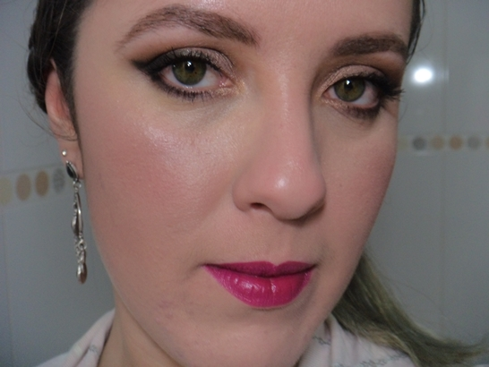 Maquiagem Neutra com Cintilância - Usando Paleta Monster High