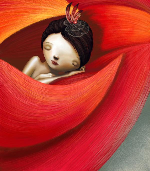 Varya Kolesnikova. Illustration | ilustración