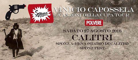 Vinicio Capossela's SponzFest POLVERE