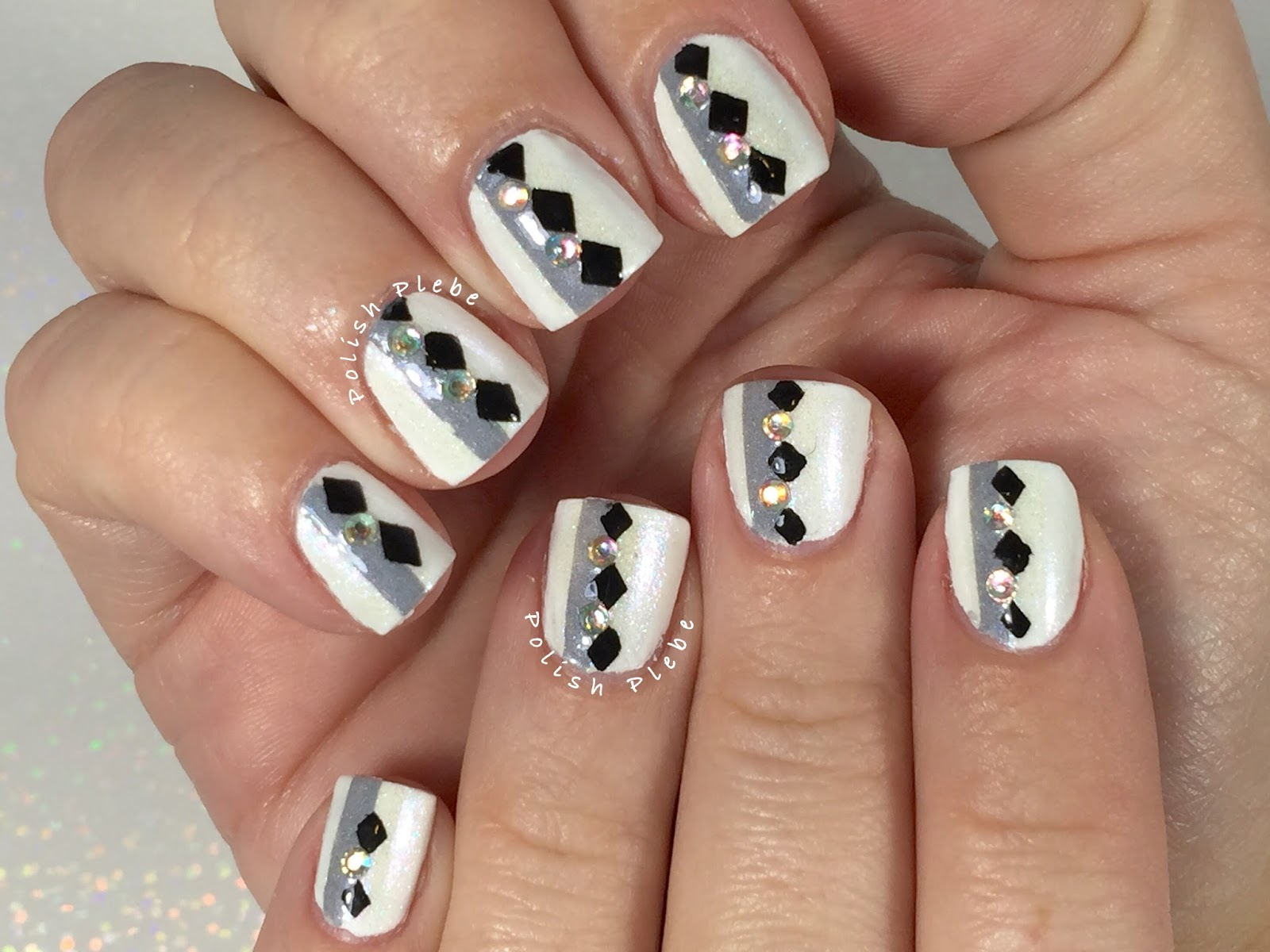 Nails Art: Art Deco Inspired Nails