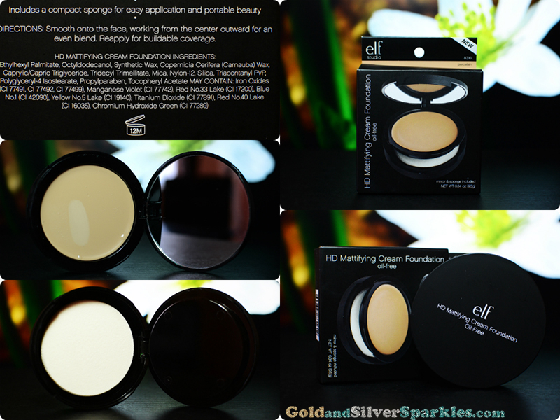 e.l.f. hd mattifying cream foundation