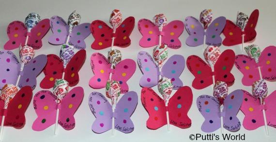 diy Butterfly Candy Lollipop