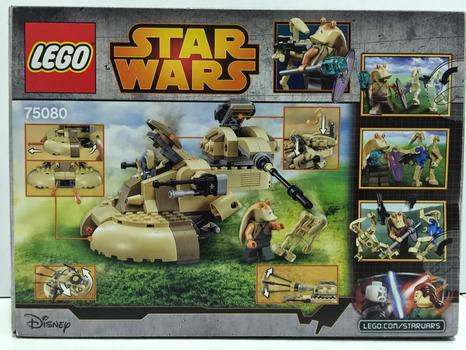 lego star wars aat 75080 instructions