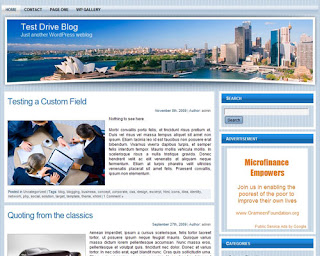 WP Travel Theme 2 Wordpress Theme