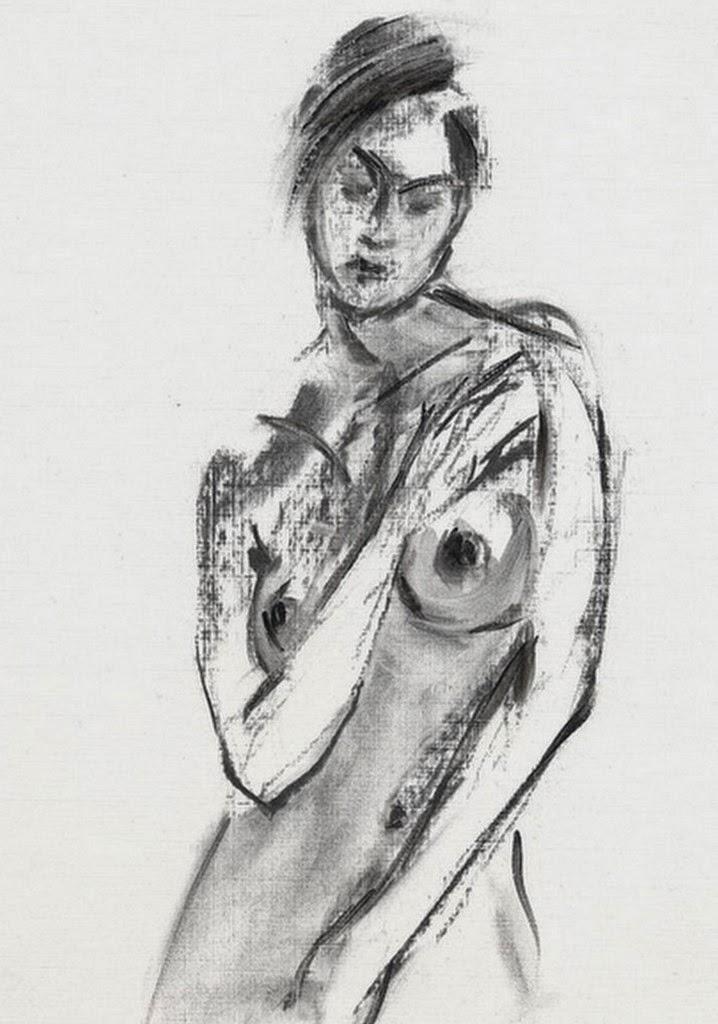 dibujo-artistico-mujer-escorzo