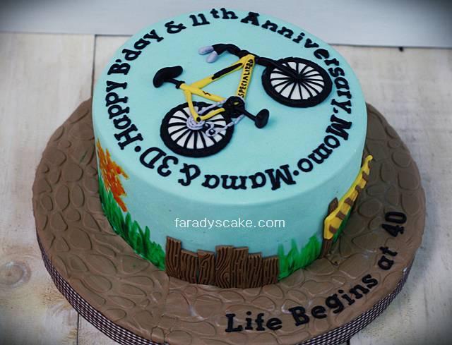 Cake Design Bike