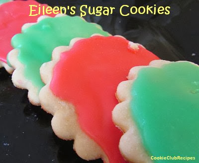 Frosted Sugar Cookies Recipe by CookieClubRecipes