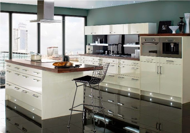modern kitchen wall paint colors