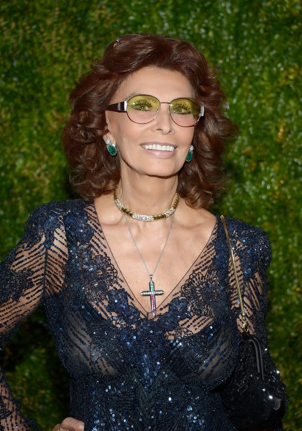Sophia Loren: transparency and beauty at age 79