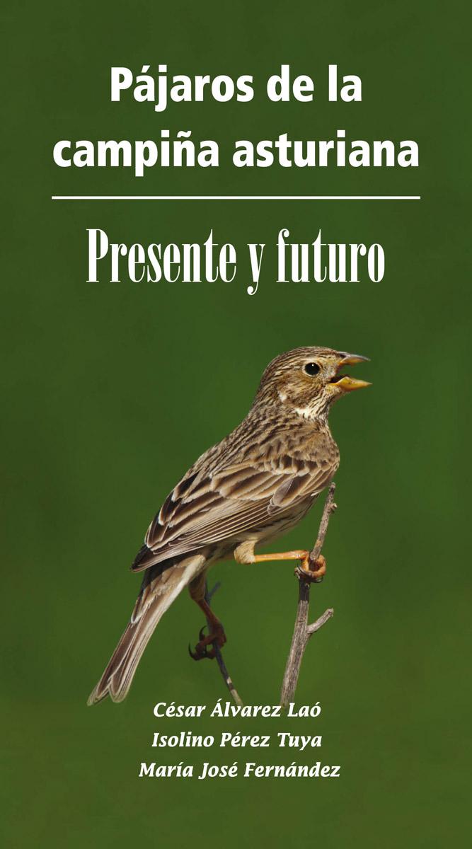 Imagen de la portada del libro Pájaros de la campiña asturiana, presente y futuro