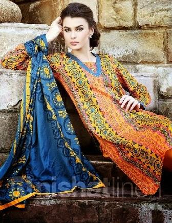 NISHAT Linen Salwar Lawn Suits