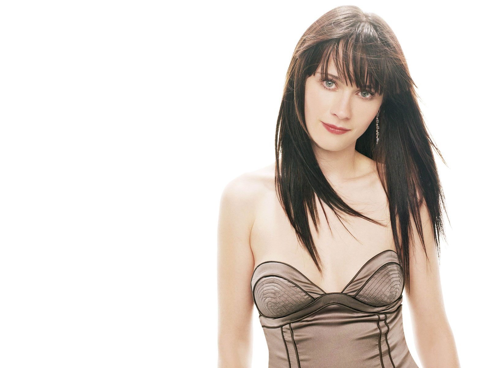 Wallpaperstopick Zooey Deschanel