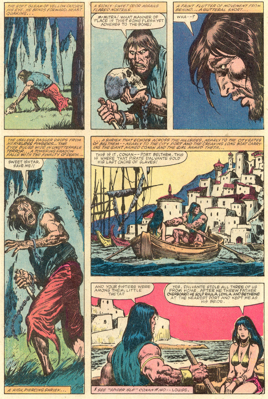 Conan the Barbarian (1970) Issue #142 #154 - English 3