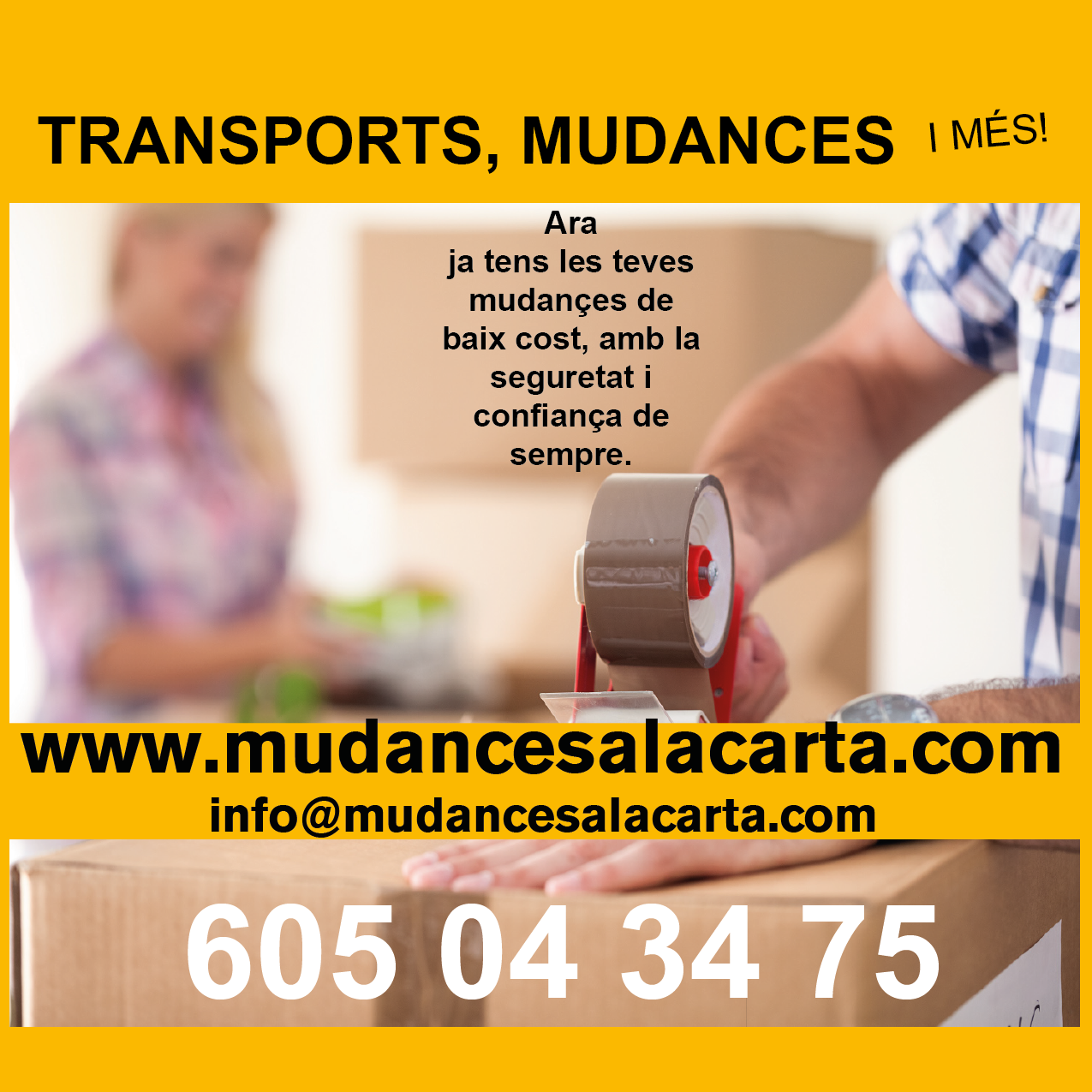 MUDANCES A LA CARTA
