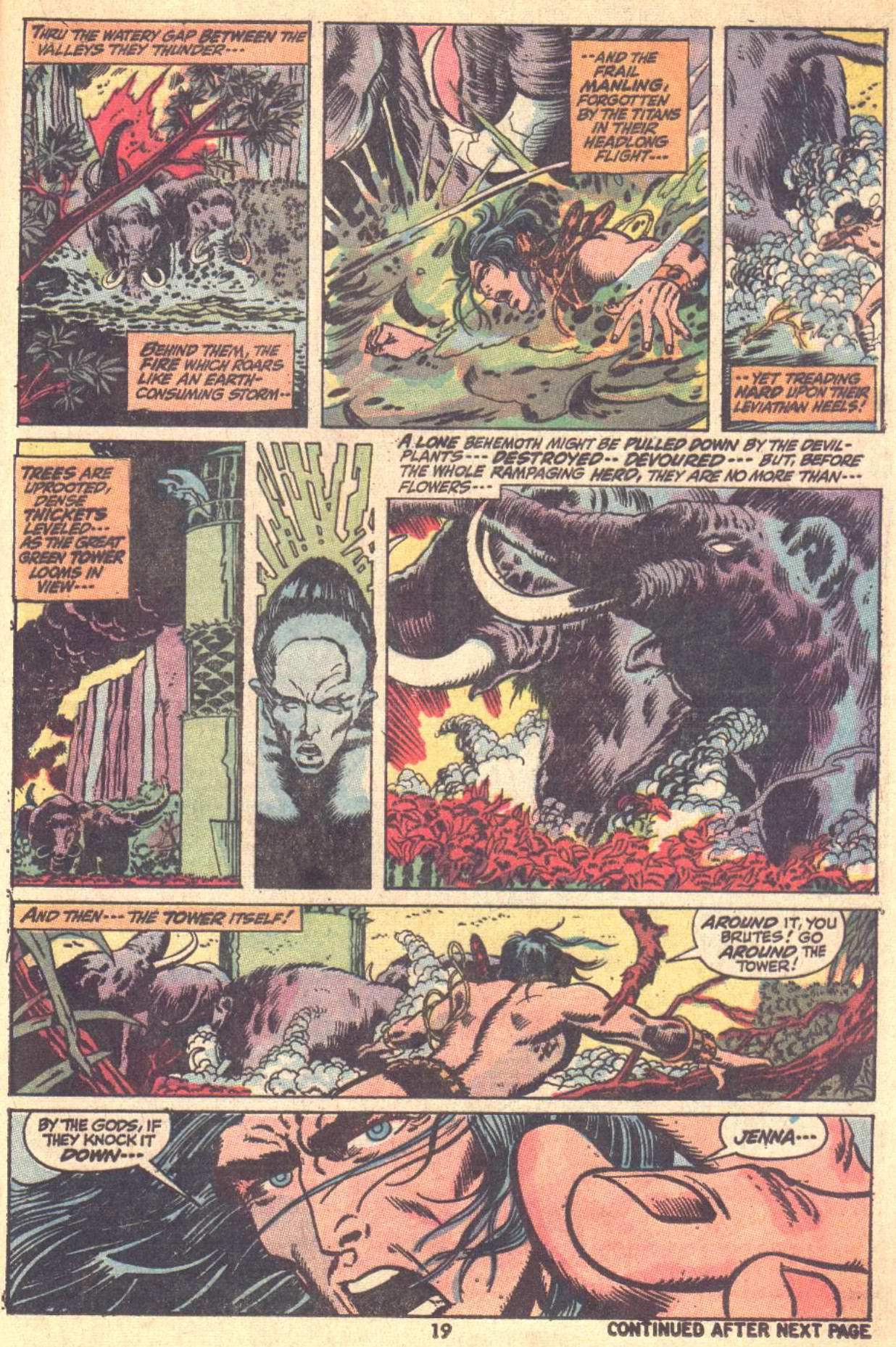 Conan the Barbarian (1970) Issue #9 #21 - English 15