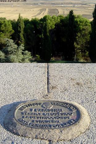 Vistas desde el centro geográfico de Getafe