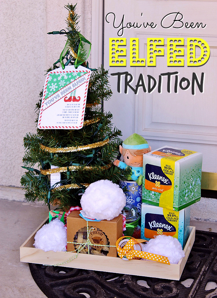 Start a tradition of 'Efling' in your neighborhood- Click for FREE Printable! #SpreadKleenexCare (ad)
