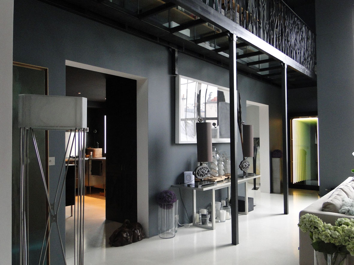 loft connexion by samuel johde en exclusivit loft paris 17e wagram. Black Bedroom Furniture Sets. Home Design Ideas