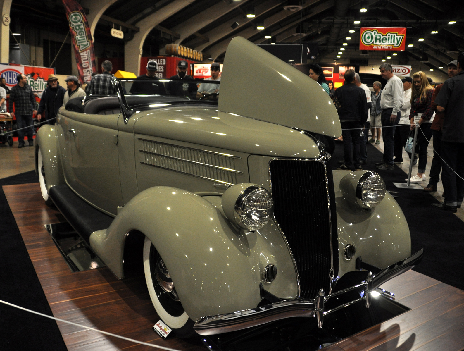 Just A Car Guy: 36 Ford deluxe by Hollywood Hot Rods