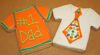 fathers day sugar cookies