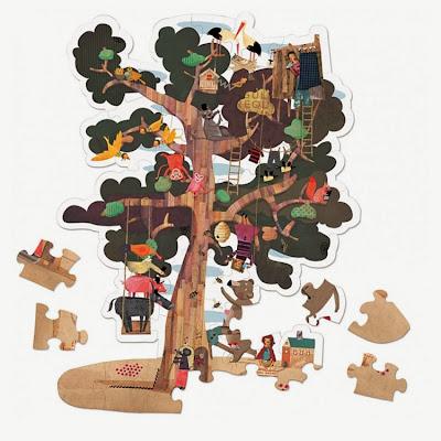 Puzzle Reversible Árbol