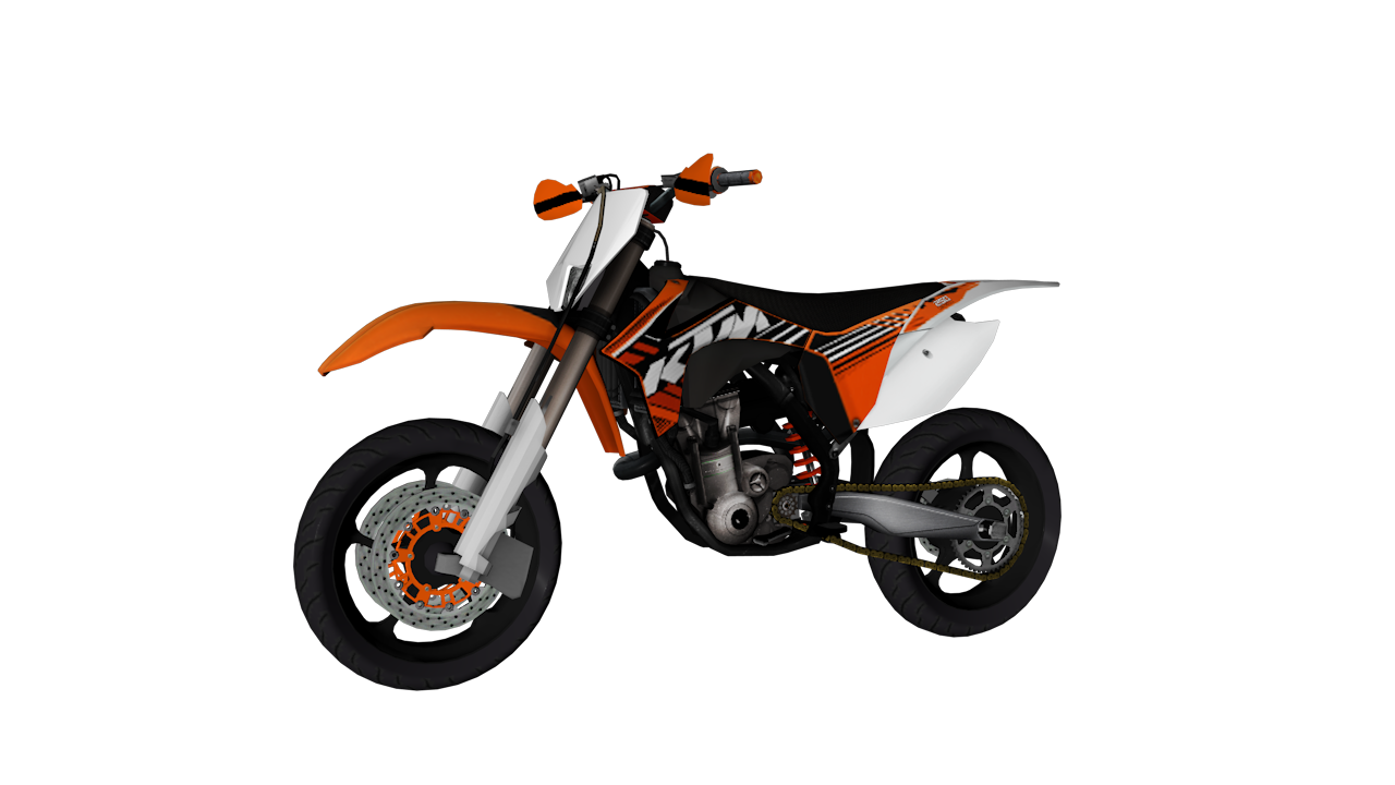 [REL] KTM 250cc exc - Super motard 1