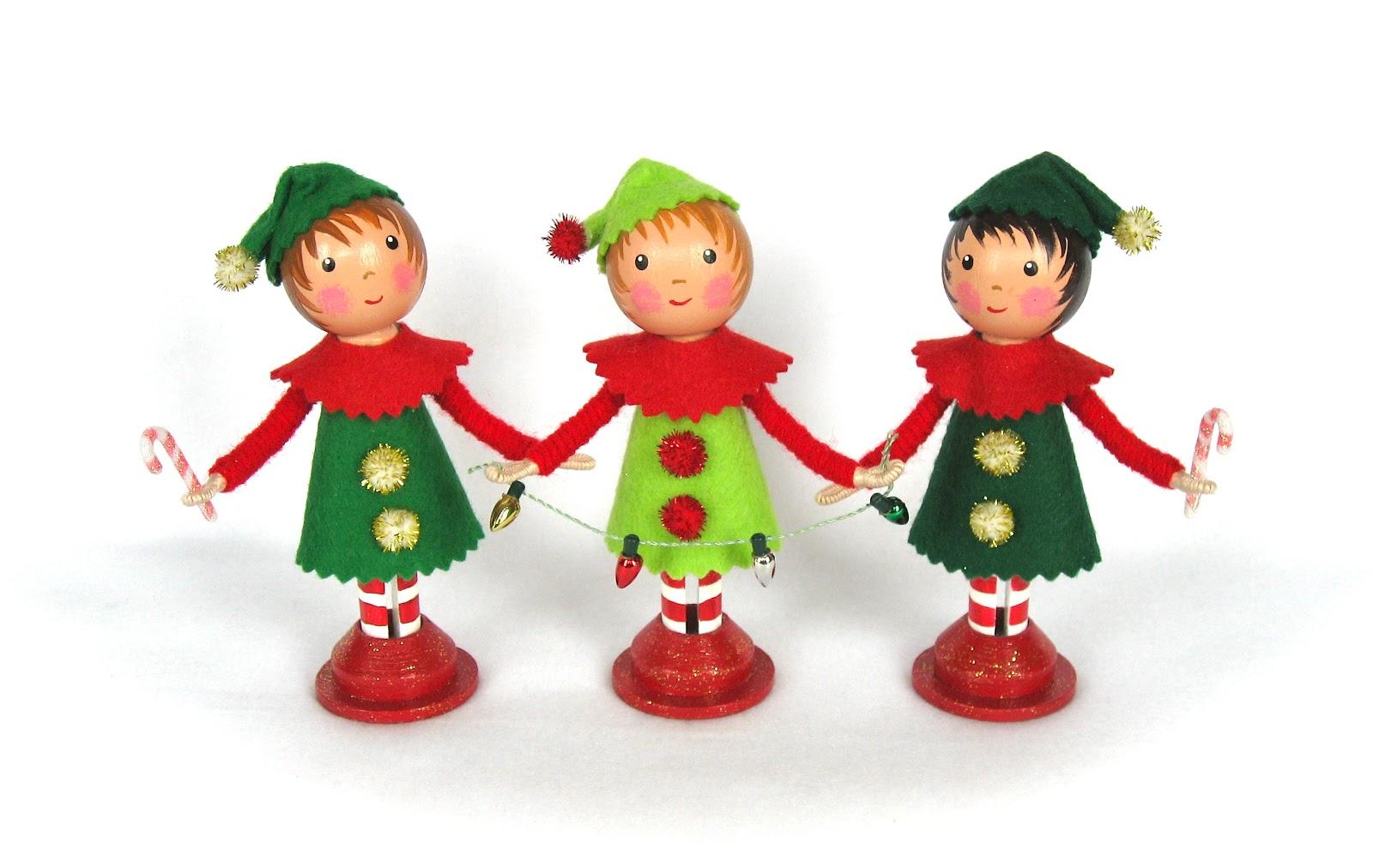 christmas elves and fairies