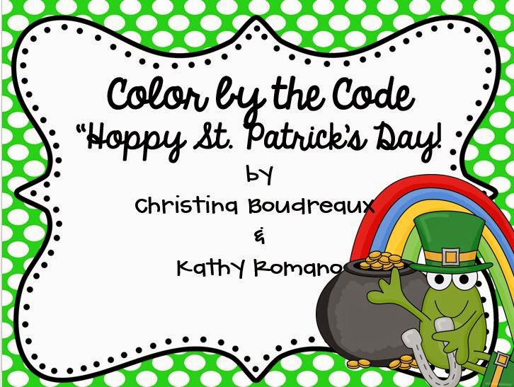 https://www.teacherspayteachers.com/Product/St-Patricks-Day-Color-by-the-Code-1743813