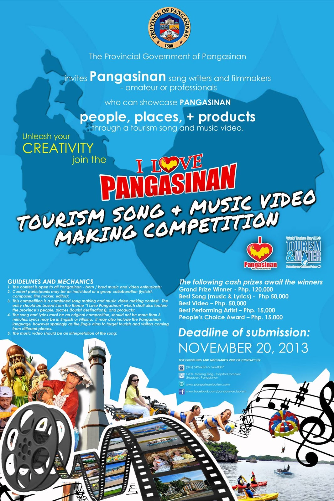Pangasinan Tourism Song and Music Video Making Contest