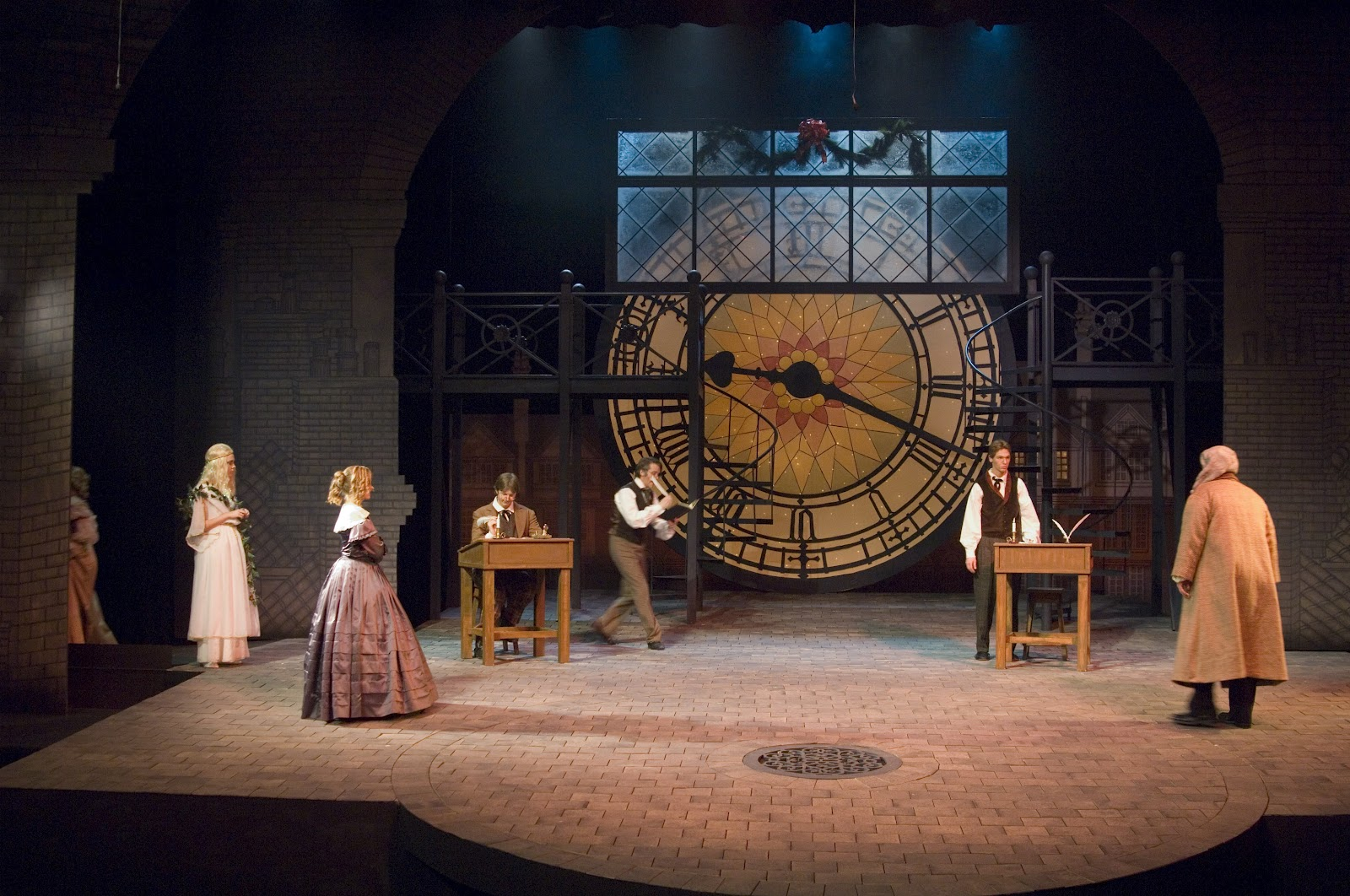 The Theatrical Designs of Gary Benson: A Christmas Carol--Lighting ...