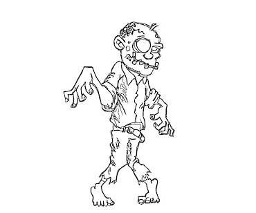 #3 The Walking Dead Coloring Page