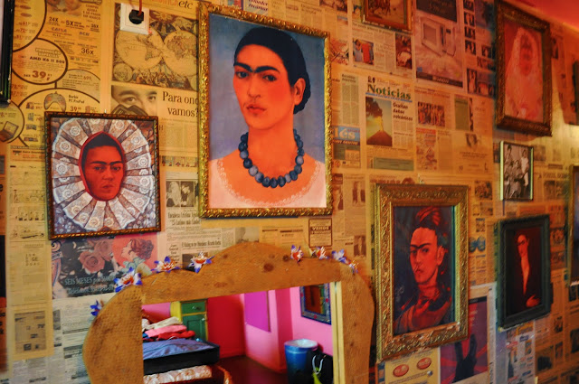 Frida Kahlo Room at Hotel Bazar