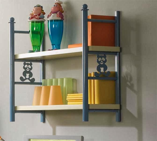Estanteria de Colgar Carim, estanteria de colgar forja colores