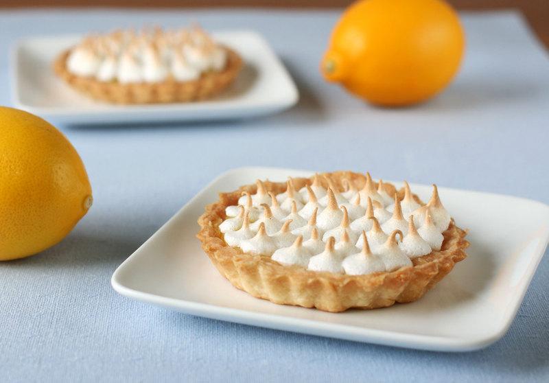 Tarts On Demand: Easy Lemon Meringue Tarts