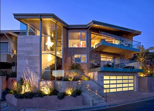 Fachadas casas modernas fachadas exteriores de casas for Exteriores de casas modernas