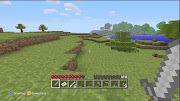 A randomly generated area in Minecraft: Xbox 360 Edition.