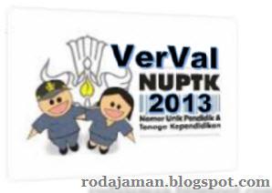 Langkah VerVal NUPTK 2013 oleh PTK dan Operator di Padamu Negeri