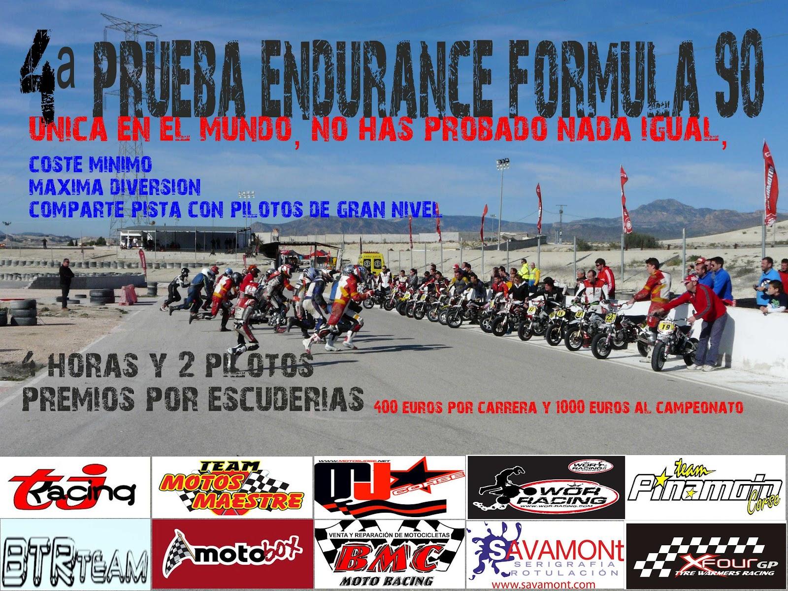 Circuito Jumilla : 4ª prueba endurance formula 90