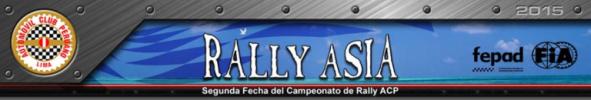 SE VIENE EL RALLY ASIA  2015
