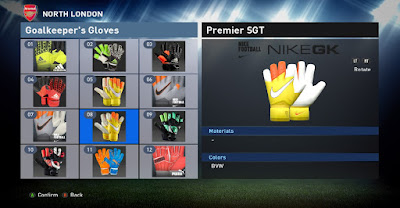 PES 2016 Gloves Pack Terbaru