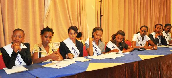 Miss Universe Tanzania 2011 will be crowned on May 27, 2011 - Photos of some of the contestants