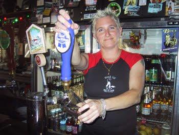 Lesbian bartender