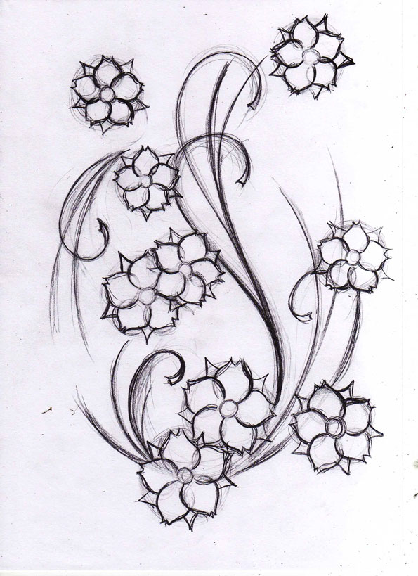 tattoo flowers nycardsandswag. Black Bedroom Furniture Sets. Home Design Ideas