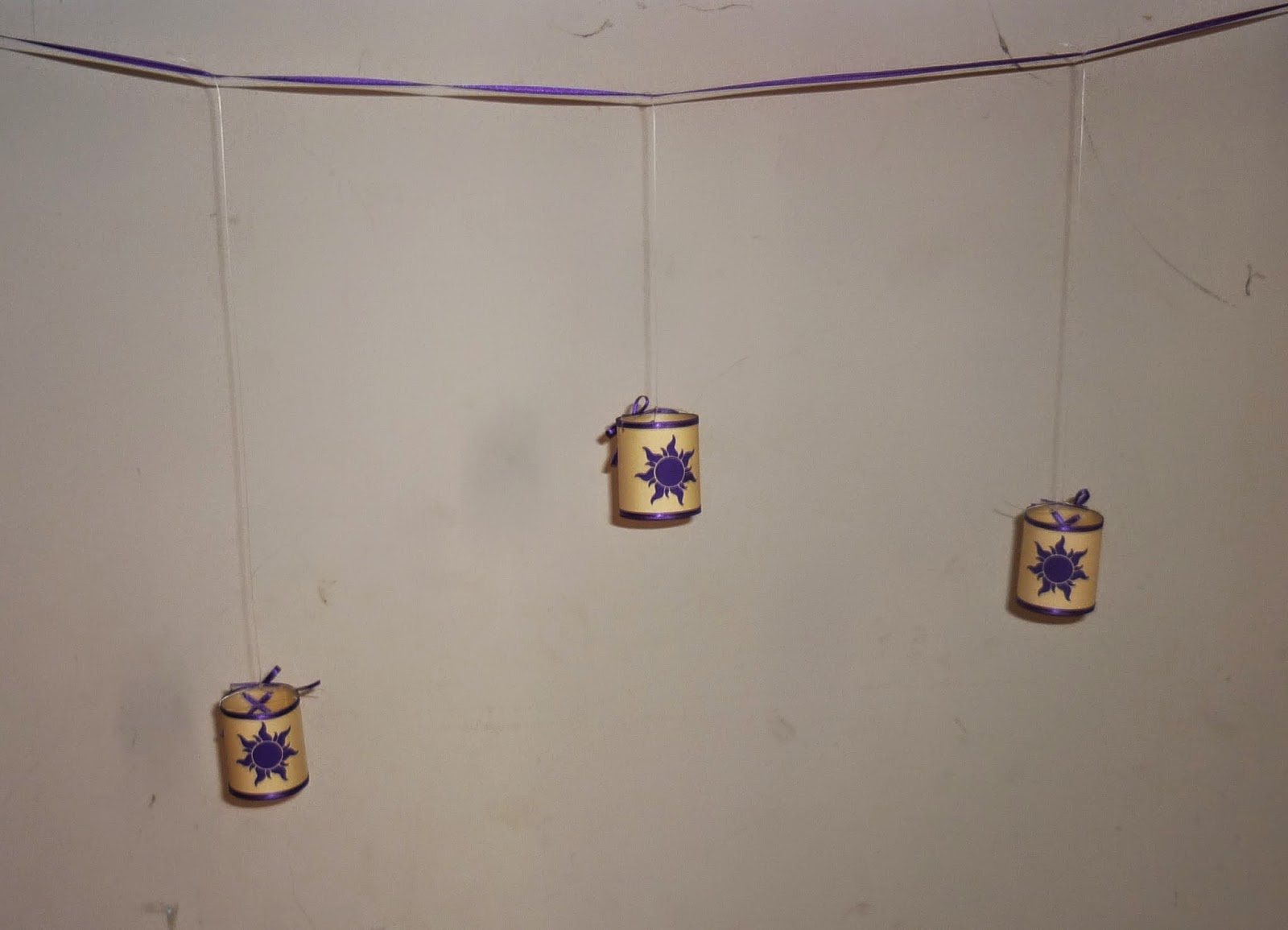 Minimandy. Linternas. Rapunzel. Tangled. Enredados. Guirnaldas. Luces.