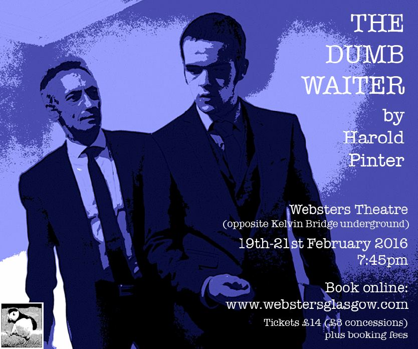 the dumb waiter critical approach Chapter two, the modernist as populist, turns to pinter's engagement with popular modes and media in the dumb waiter (1960), a slight ache (1959), and betrayal (1978) chapter three, towards the postmodern, focuses on the memory plays and on pinter's turn to political drama in the 1980s.