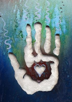 hand art in metal