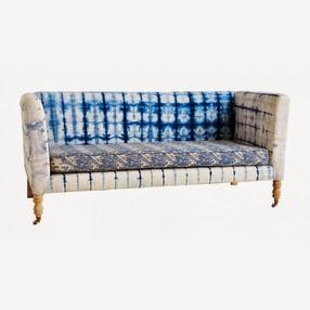 shibori sofa