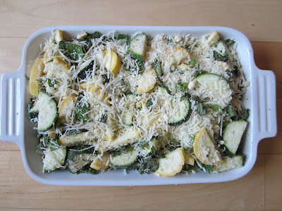 Life on Food: Easy Cheesy Zucchini Bake