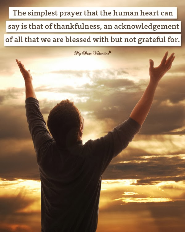 Prayer From Heart Thanksgiving Day Picture Quotes