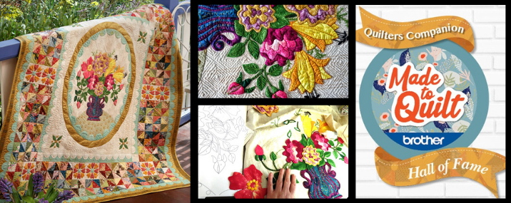 Vote for Lily Rose in the Quilter's Companion Hall of Fame